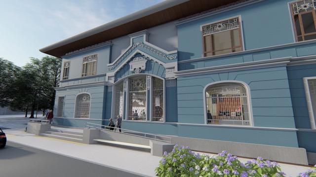 Fachada Centro Cultural Nueva Imperial
