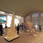 Sala de Exposiciones del Centro Cultural Nueva Imperial