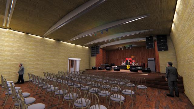 Salón Múltiple Centro Cultural Nueva Imperial